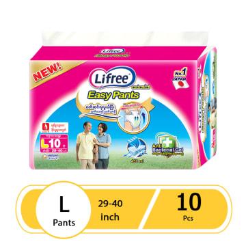 Lifree  Diaper Pant  L (10 Pcs)