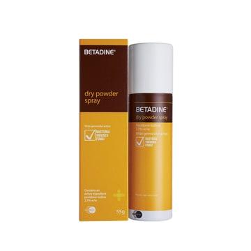 Betadine Dry power Spary  ( 55g )