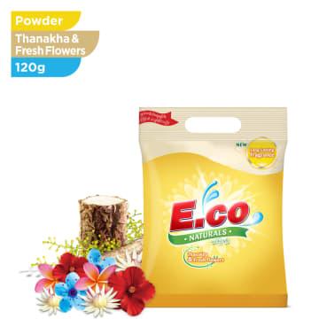 E.CO NATURAL FRESH FLOWERS 120G