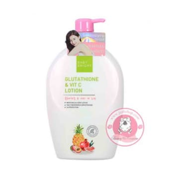 Baby bright Body Lotion 750ml #Glutathione & Vit