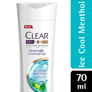 CLEAR Shampoo Icecold CARAT (MM) 70ML