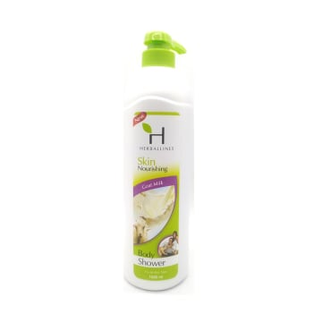 Herballines Shower Goat Milk 1000ml