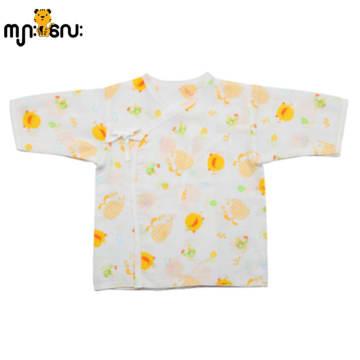 Piyo Piyo Printed Pattern Cotton Kimono Top