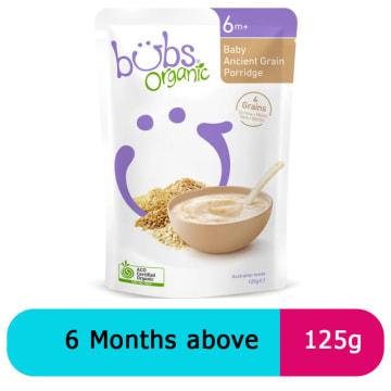 Bubs baby ancient grain porridge (125g)