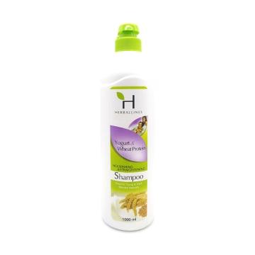 Herballines Shampoo Yogurt & Wheat Protein 1000Ml