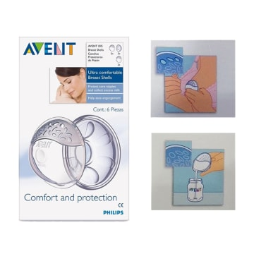 Philips Avent-ISIS Comfort Breast Shell Set-SCF-157/02