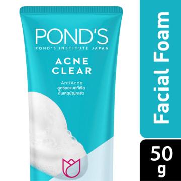 Ponds Acne Clear Foam 50g