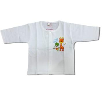 Cute Baby -White Long Sleeves Shirt -(6-9M)