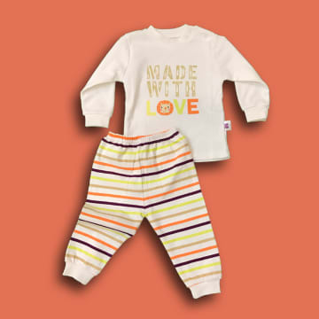 100% Cotton Made with Love