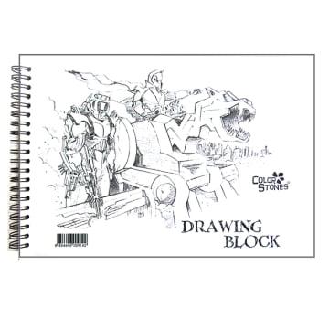 Drawing Block Book (20 Sheets)
