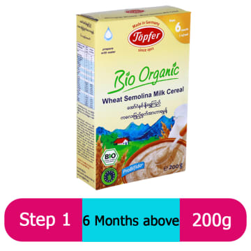 Topfer Wheat Semolina Milk Cereal (Step -1) 200g