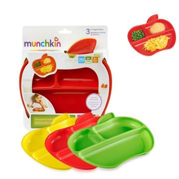 Munchkin-Apple Plates