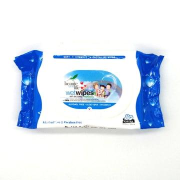 Beaute Life Wet Tissue - Blue 80's