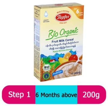 Topfer Fruit Milk Cereal (Step-1) 200g