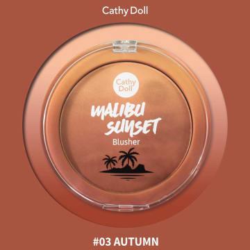 Cathy Doll  Malibu Sunset ( Blusher#04Winter )