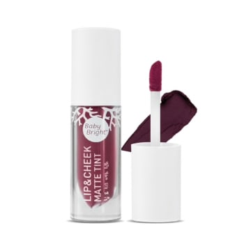 Baby Bright - Lip & Cheek Matte Tint#20Prune