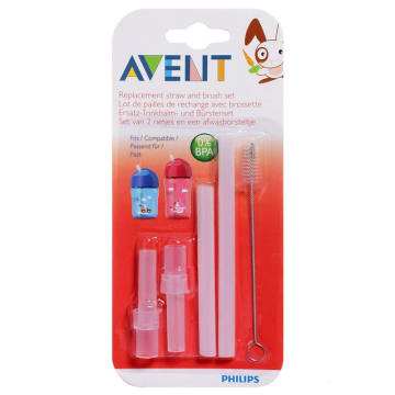 Philips Avent Replacement Straw Set