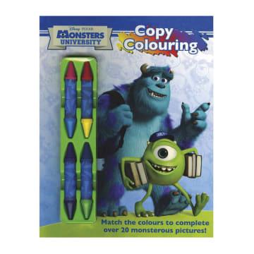 Disney Pixar Copy Colouring (Paperback)