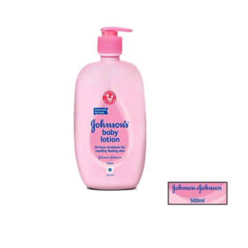 Johnson's baby pink lotion 500ml