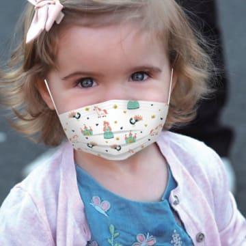 Nuby Kids Face Mask (Girl) 10 Pcs