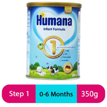Humana Gold 1 Infant Fomula (350g/Tin)