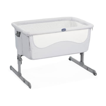 Chicco Next 2 me Co-Sleeping Crib Light Grey