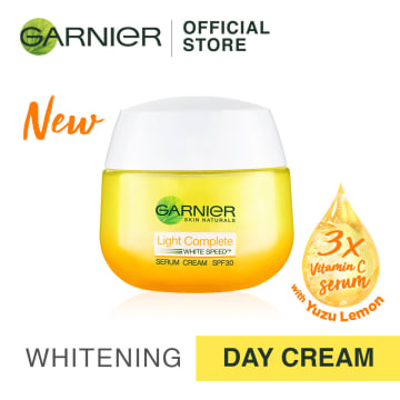 GARNIERLight Complete Whitening Yuzu Day Cream SPF 30 PA+++  50ML