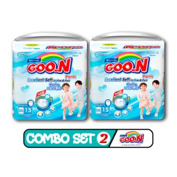 Goo.N Pants - XXXL 15 Pcs ( Combo Set 2 )
