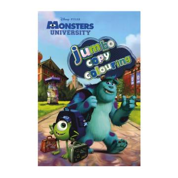 Disney Pixar Monsters University Jumbo Copy Colouring (Paperback)