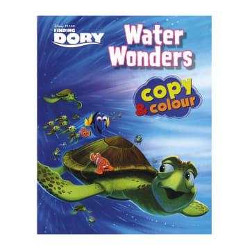 Disney Pixar Finding Dory Water Wonders Copy & Colour (Paperback