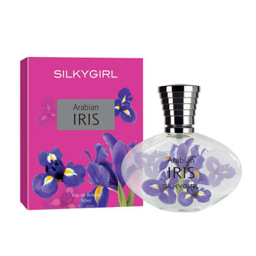 Silkygirl Flowers Collection EDT ( Iris EDT 50ml )