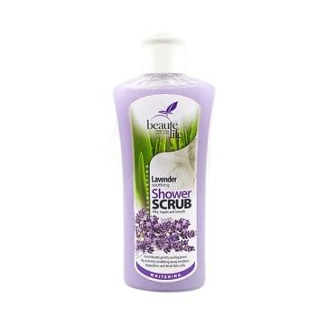 Beaute Life Shower Scrub-Lavender 320ml