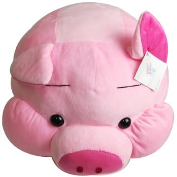 KK (kind of a heart) pink piggy
