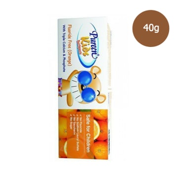Pureen Kid Orange Toothpaste Fluoride Free (40g)