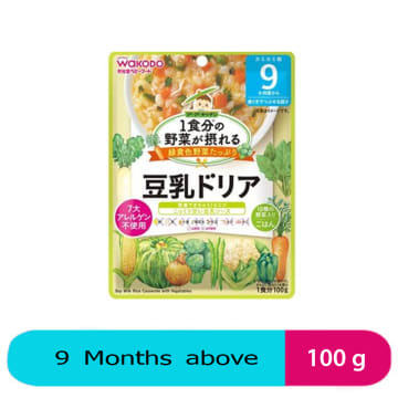 Wakodo Soy Milk Rice Casserole with Vegetables (9M+) 100 g