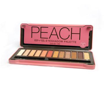 BYS Peach Eye Shadow Palette