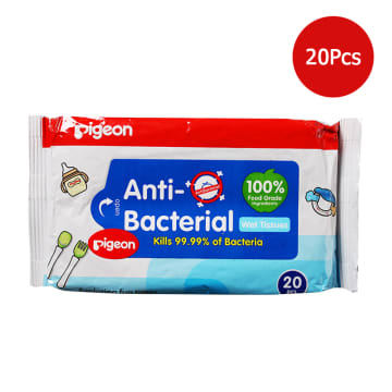 Baby Anti-Bacterial Wet Tissue 20pcs