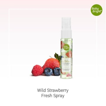 Baby bright Body Mist #Wild Strawberry 20ml