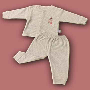 100% Cotton Long sleeve with Long Pant