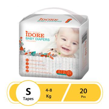 Idore Baby Diaper Pants S(20 Pcs)
