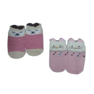 Baby Socks 2 pair  M(0-6 M)