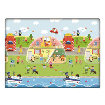 Comflor Play Mat-Robot City (M)