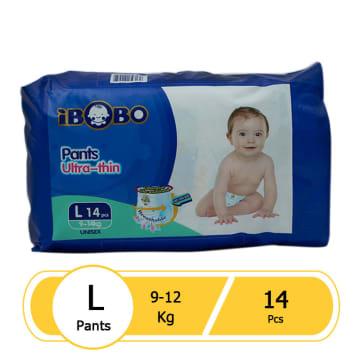 Ibobo Diaper Pant (L-14 pcs)