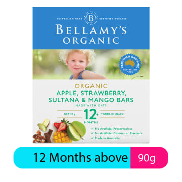 Apple, Strawberry, Sultana & Mango Bars