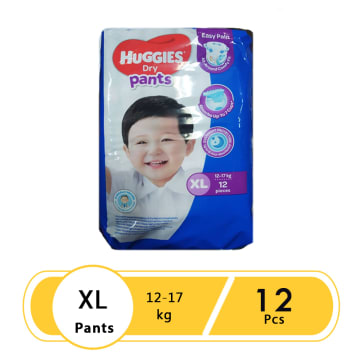 Huggies ( Dry Pants ECO ) XL 12
