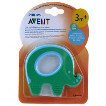 Teether Elephant Single Pack - SCF-199/00