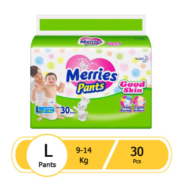 Merries Pants Good Skin L(30 pcs)