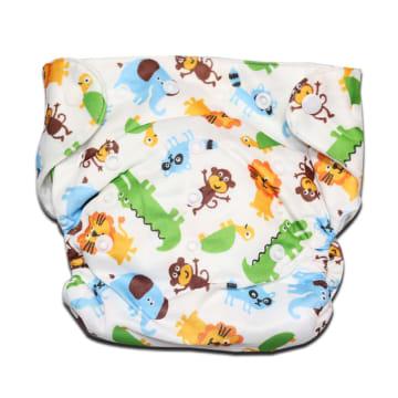 Cloth Diaper (Elephant, Lion, Monkey)