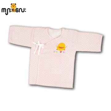 Baby cotton shirt (Piyo Piyo) pink