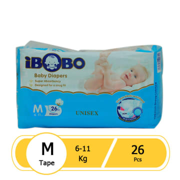 iBobo Baby Diaper M-26